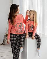 Пижама на девочку со штанами - Собачка