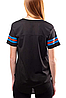 Спортивная футболка Ultra Game Women's Soft Mesh Jersey Tee Shirt- Black (M), фото 2