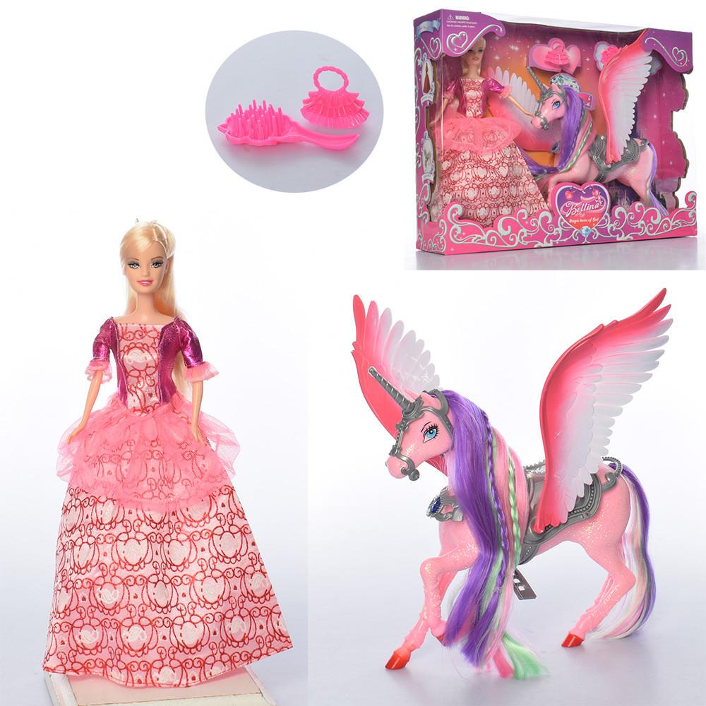Лялька з пегасом в кор. 68240