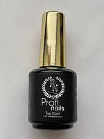 Top coat от Profi nails финишное покрытие с липким слоем Profi nails 15 ml