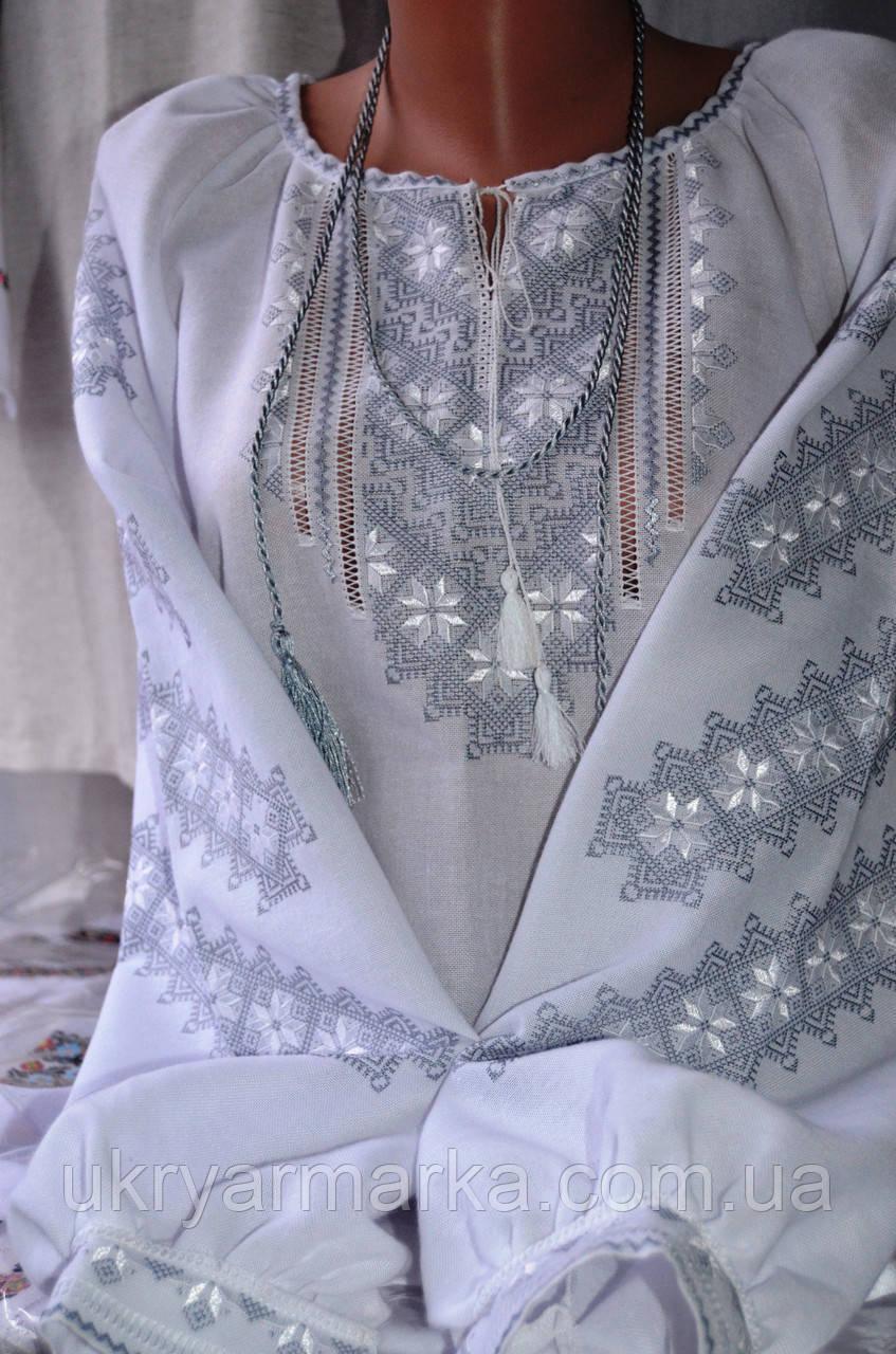"""Блузка із стильною вишивкою """"Безкінечність"""""""
