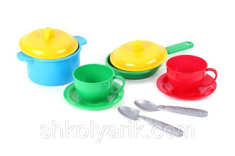 Набір посуду ТехноК Маринка-3 10предм. 0700