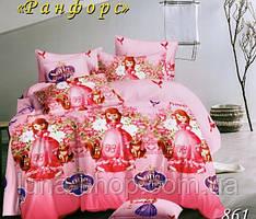 Детский полуторный комплект София Прекрасная-7, ранфорс (хлопок)