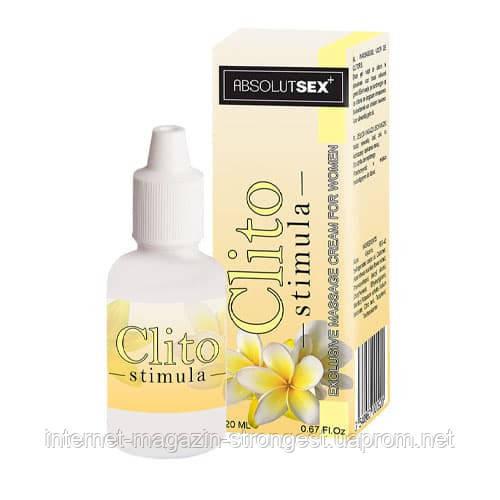 Женский возбуждающий крем Clito Stimula, 20 мл