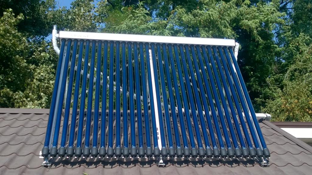 Солнечный вакуумный коллектор ATMOSFERA СВК-А 30 - надёжный преобразователь солнечной энергии в тепловую.