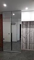 Дзеркальна шафа з розсувними дверима в передпокій