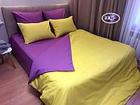Набор постельного белья Сатин Дуэт однотонный сдо02 Полуторный