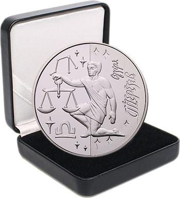 """Срібна монета НБУ """"Терези"""""""