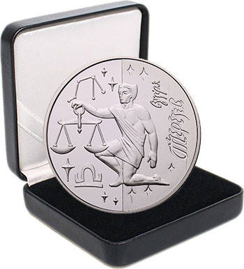 "Срібна монета НБУ ""Терези"", фото 2"