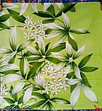 Пододеяльник из полиэстера двуспальный Зеленая лилия, фото 5