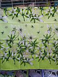 Пододеяльник из полиэстера двуспальный Зеленая лилия, фото 6