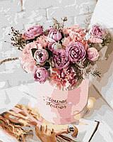 Картины по номерам на холсте Наборы для рисования по номерам акриловая живопись Красивые букеты цветов