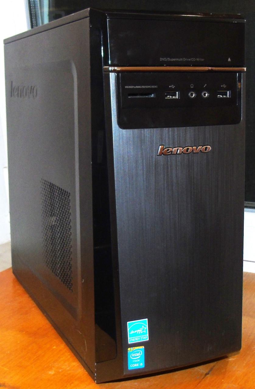 Lenovo Системный блок Intel Core i3 4150, 4GB DDR3, 500gb HDD Seagate win10 x64 @