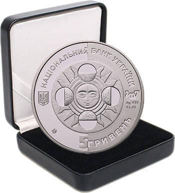 """Срібна монета НБУ """"Скорпіон"""", фото 2"""