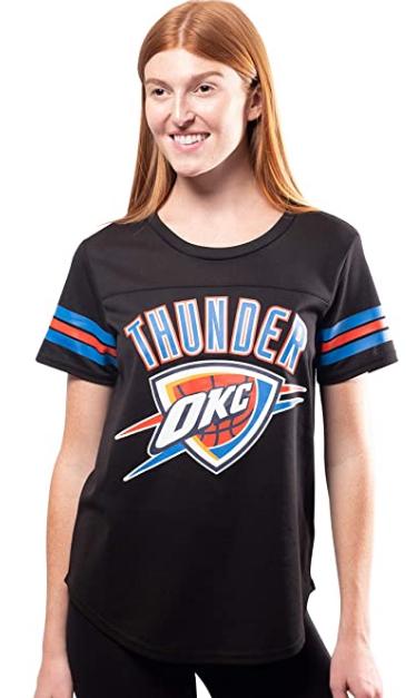 Спортивная футболка Ultra Game Women's Soft Mesh Jersey Tee Shirt- Black (M)