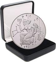 """Срібна монета НБУ """"Діва"""""""