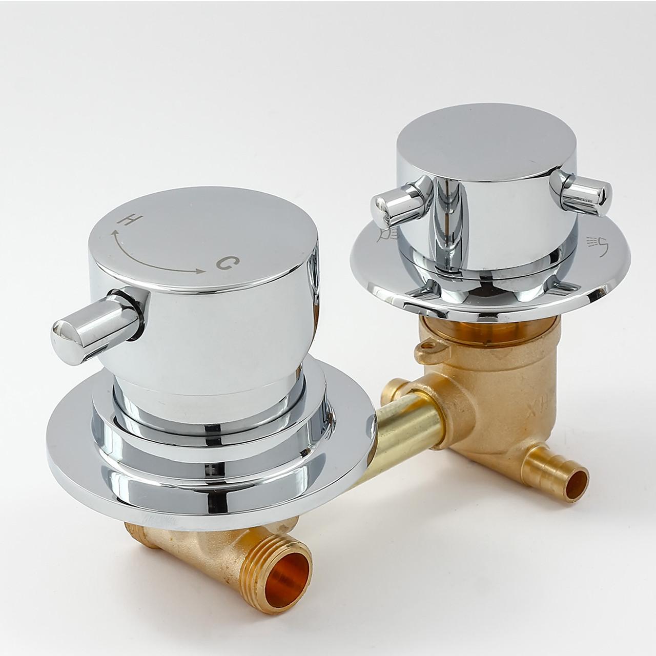 Змішувач для гідробоксу, душової кабіни S2-100 на 2 положення.