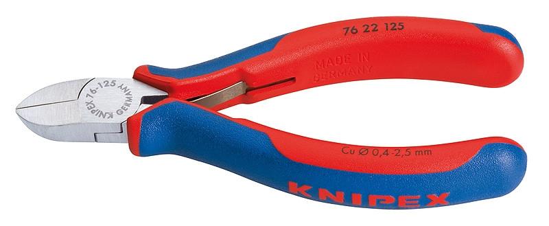 Кусачки бокові для електроніки KNIPEX 76 22 125