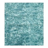 Панель стінова 3D 700х770х5мм, синьо-блакитний мармур DEEP SEE