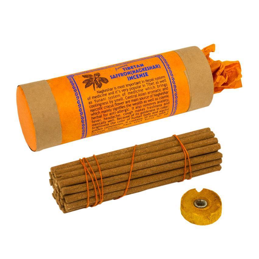 Благовония Тибетские BA Шафран Tibetan Saffron Подарочная упаковка 12,8x4x4 см (22248)