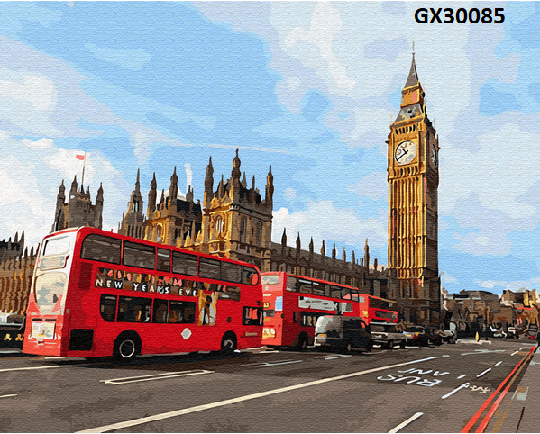 Картина по номерам. «Магія Лондона» GX30085