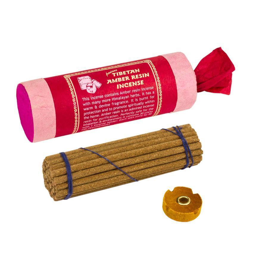 Благовония Тибетские BA Янтарная смола Tibetan Amber Resin Подарочная упаковка 12,8x4x4 см (23078)