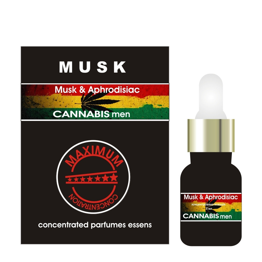 Концентрат феромонов мужской Musk Cannabis 5 ml
