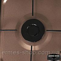 Настільна газова плита на 2 конфорки Lexical LGS-2812-5 | 3.7 KW, фото 5