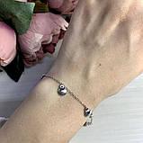 Серебряный браслет SilverBreeze без камней (2037194) 1720 размер, фото 3