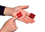 Аппликатор Ляпко Краплинка 3,5 Ag Размер 33х33 мм, 2 шт - игольчатый, акупунктурный массажер для лица и тела, фото 9