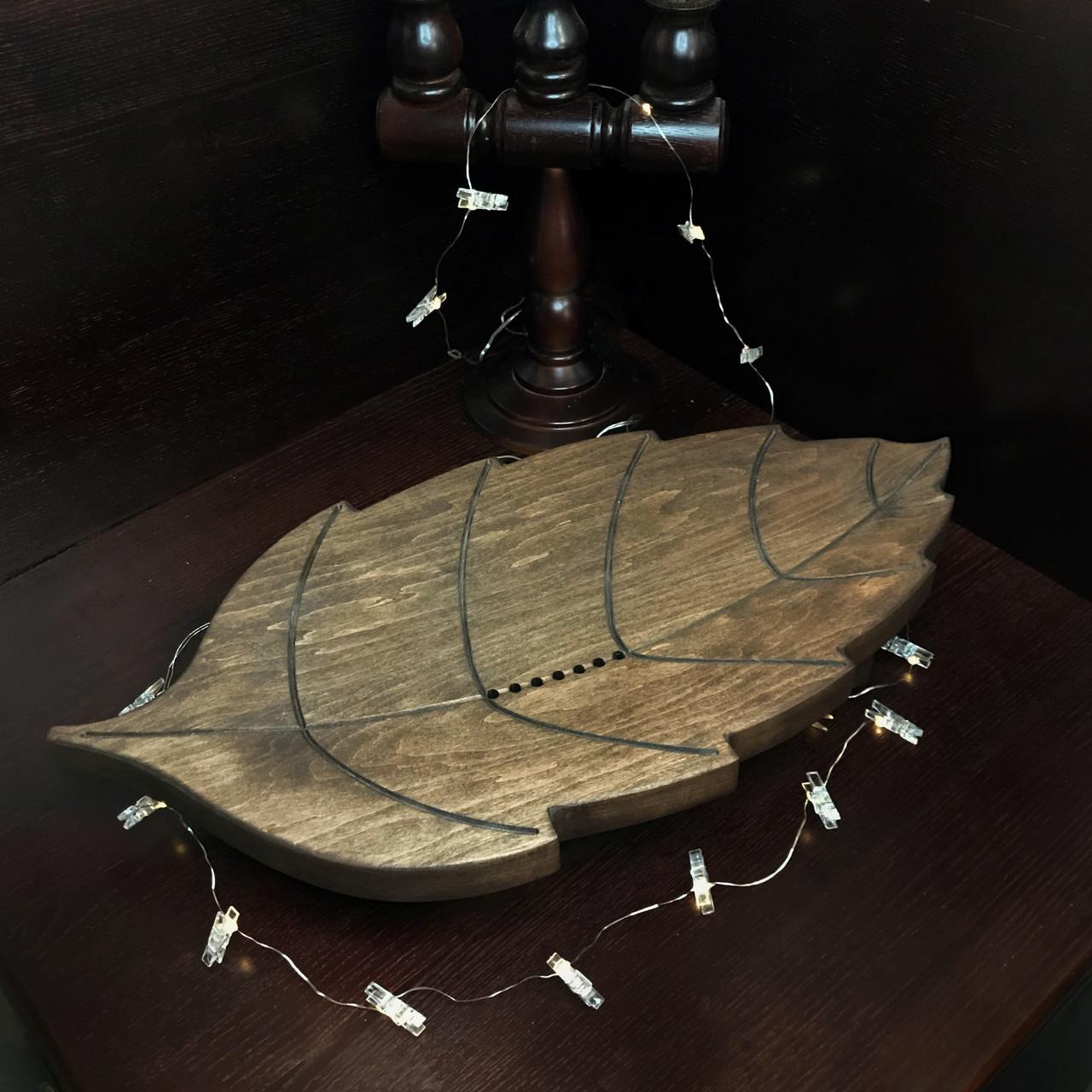 Чабань Лист (чёрная ольха) 55*35 см