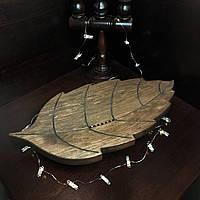 Чабань Лист (чёрная ольха) 55*35 см, фото 1