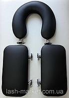 Набор подголовник и 2 подлокотники для кушетки косметологической массажа