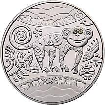 """Срібна монета НБУ """"Рік Мавпи"""", фото 3"""