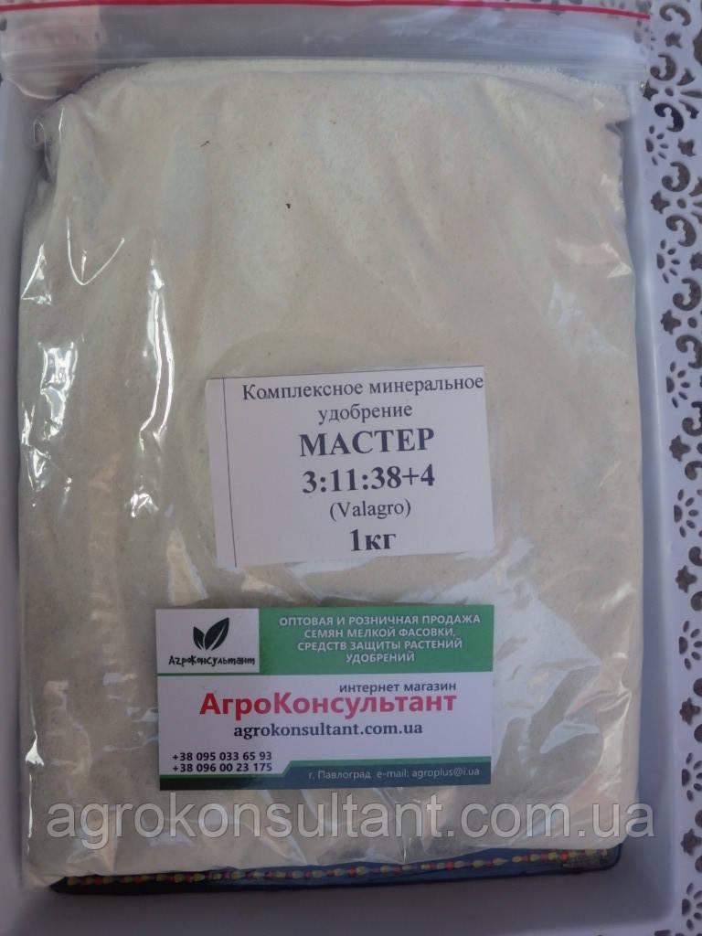 МАЙСТЕР NPK 3.11.38+4 / MASTER NPK 3.11.38+4 - універсальне комплексне водорозчинне добриво мінеральне