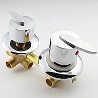 Змішувач для душової кабіни, гідробоксу G 4 - 100 мм.