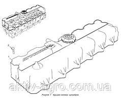 Крышка клапанная ЯМЗ 536