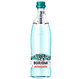 Упаковка минеральной лечебно-столовой сильногазированной воды Borjomi 0,5 х 12 стеклянных бутылок, фото 2