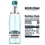 Упаковка минеральной лечебно-столовой сильногазированной воды Borjomi 0,5 х 12 стеклянных бутылок, фото 6