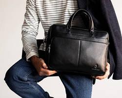 Мужские портфели для ноутбука-документов-офиса