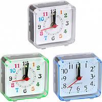 От 5 шт. Настольные часы - будильник 2046/Х2-11 маленькие 5,8*5,5*2,7см купить оптом в интернет магазине От 5