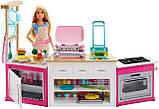 Игровой набор с куклой Барби Barbie Ultimate Kitchen Готовим вместе, фото 2