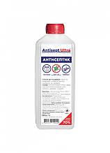 Антисептик для рук и поверхностей Antisept ULTRA (70% спирта) 1 л. Дезинфицирующее средство