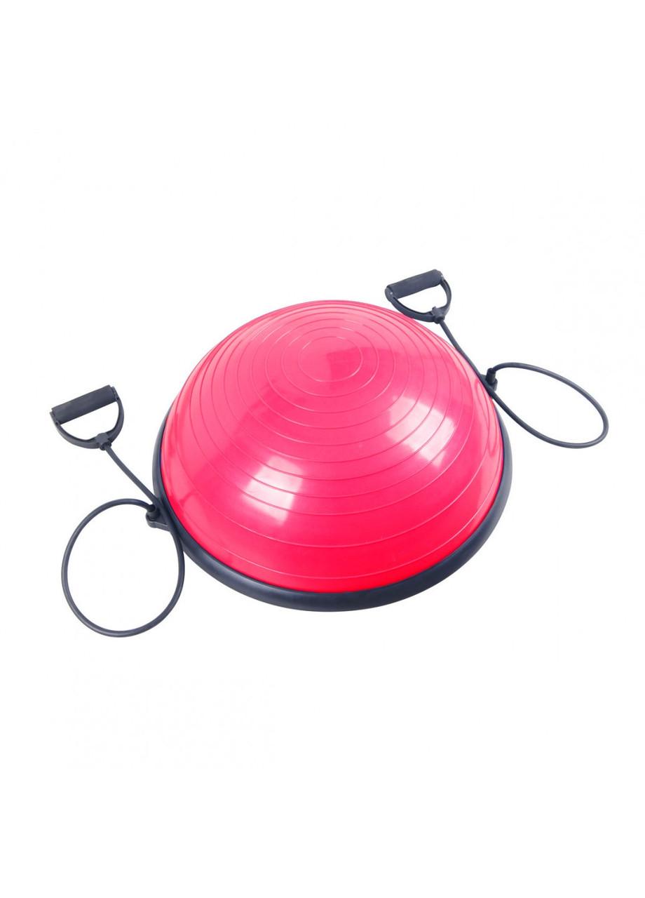 Балансировочная платформа Sport Shiny Bosu Ball 60 см SS6037-2 розовая