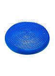 Балансировочная подушка (сенсомоторная) массажная 4FIZJO PRO+ 4FJ0022 синяя. Балансировочный диск, фото 4