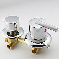 Змішувач для душової кабіни, гідромасажного боксу G 3 - 100 мм.