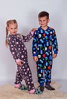 Махровый комбинезон Кигуруми пижама для мальчика [Рост: 122]