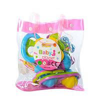 Набор детский погремушек 3838A-25 в сумке , (Оригинал)