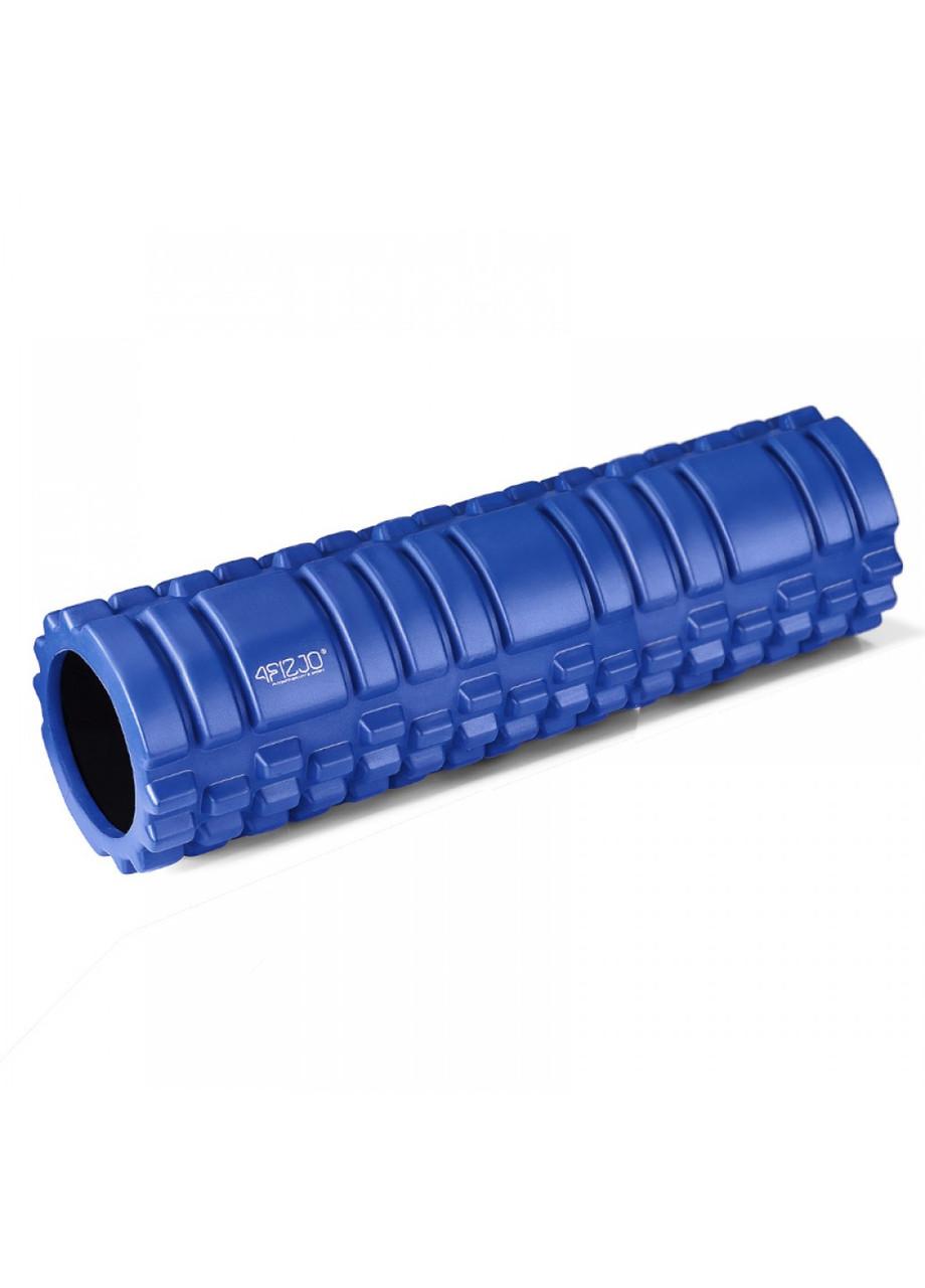 Массажный ролик (валик, роллер, ролл) 4FIZJO 45 x 15 см 4FJ0106 Blue для йоги и фитнеса