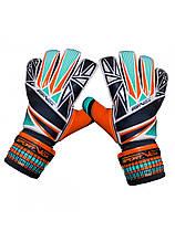 Вратарские перчатки SportVida SV-PA0005 размер 4. Футбольные перчатки, перчатки для футбола